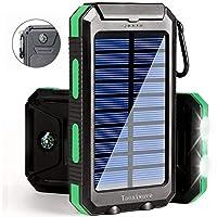 Solar Charger Solar Power Bank 20000mAh ...