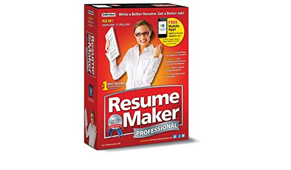 individual software inc individual software resume maker professional deluxe 17 amazonca electronics - Individual Software Resume Maker