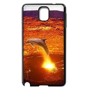 ALICASE Diy Case Dolphin For samsung galaxy note 3 N9000 [Pattern-1]