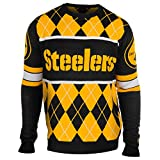 Pittsburgh Steelers Exclusive NFL Argyle Sweater Large