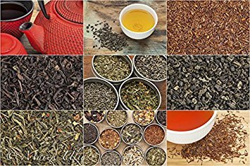 Organic Tea Wood Chest - Touch Organic 60 Tea Bags - Selection of Our 6 Most Popular Certified Organic Teas: Green Tea, White Tea, Oolong Tea, Mango Green Tea, Very Berry White Tea, Mint Green Tea by Touch Organic (Image #2)