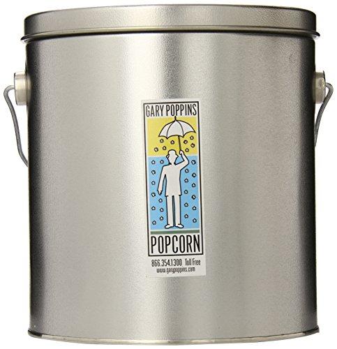 Gary Poppins Popcorn Handcrafted Popcorn, 1 Gallon Tin, Caramel Cheddar Kettle