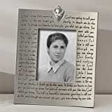 Religious Memorial Bereavement Picture Photo Frame with Verse 40482 by Roman