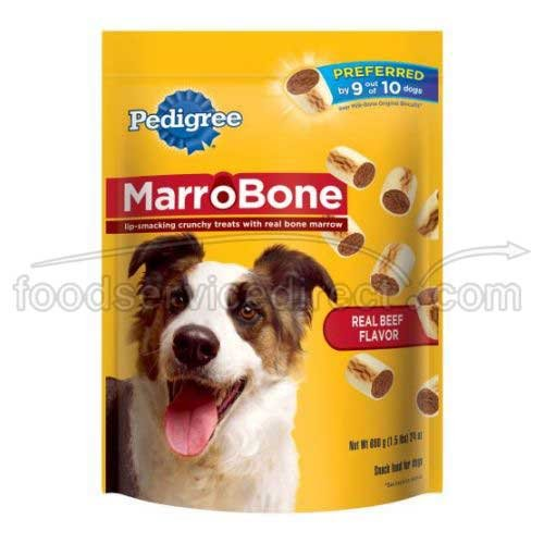 Mars Pedigree Marrobone Real Beef Flavor Dog Treat, 24 Ou...
