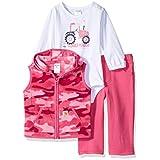 Carhartt baby-girls Baby 3 Piece Gift Set