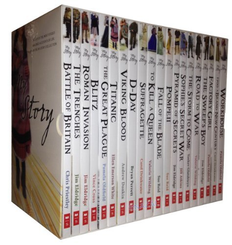 - My Royal Story Series Collection 20 Books Set Box Pack (Workhouse, The sweep's boy, Road to war, The Storm to come, Sophie's secret war, D-Day, Viking Blood, Titanic, The Great Plague, Blitz, Roman Invasion, The Trenches, Battle of Britain, etc) (My Royal Story Collection)