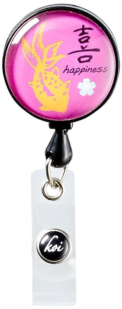 Koi Womens Retractable ID Badge Reel