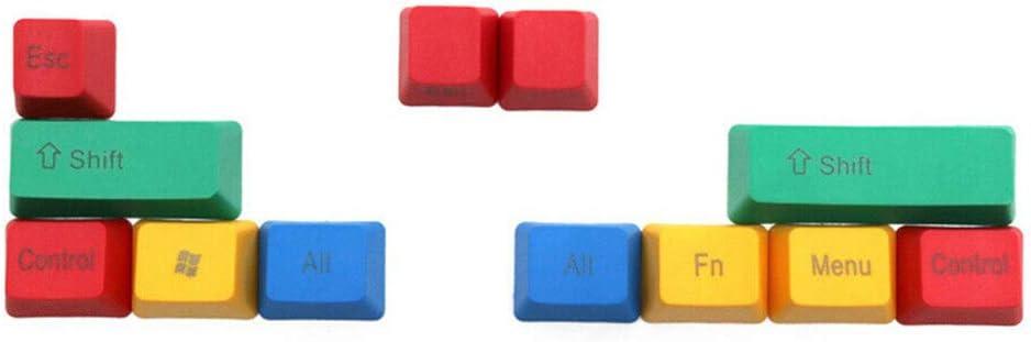 Keycaps - Juego de 10 teclados mecánicos de repuesto, perfil ...