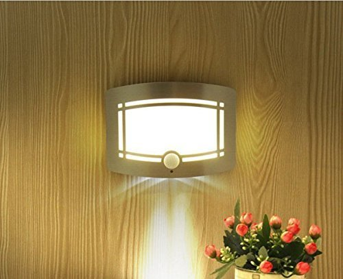 Applique da parete super bright wireless motion sensing led per