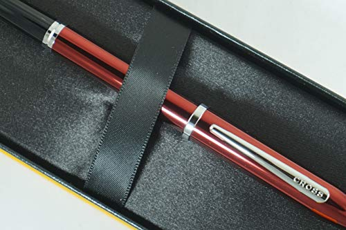 Cross Century II Limited Series, Pearlescent Metallic Ruby Red selectip Gel Ink Rollerball Pen