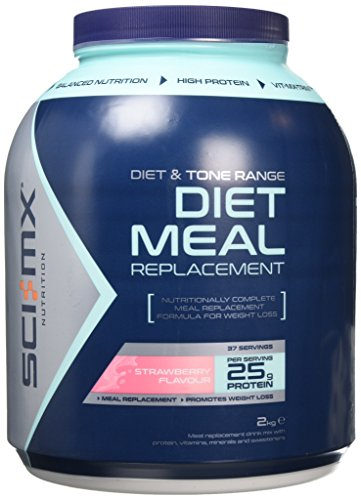SCI-MX Nutrition Diet Pro Meal 2 kg Strawberry - High protein meal shake...
