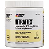 GAT Clinically Tested Nitraflex, Testosterone Enhancing Pre Workout, Pineapple, 300 Gram by GAT