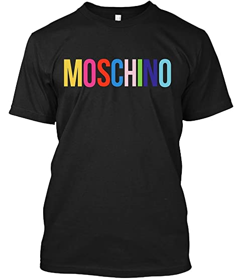 lowest discount on wholesale outlet store sale Amazon.com: Moschino Inspired t Shirt T-Shirt: Clothing
