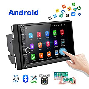 Image of Android Car Radio 2 Din Car GPS Navi AMprime 1080P 7 inch Touch Screen Bluetooth Car Video FM Stereo MP5 Player Mirror Link + Backup Camera In-Dash Navigation