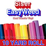 Siser Easyweed Brown 15'' x 10' Iron on Heat Transfer Vinyl Roll HTV by Coaches World