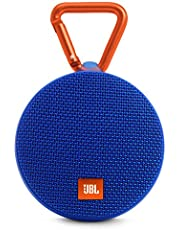 JBL Clip 2 Bluetooth Speaker, Blue