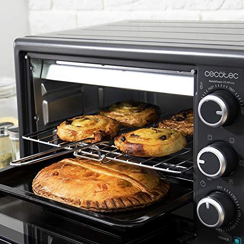 Cecotec Horno Conveccion Sobremesa Bake&Toast 570. Capacidad de 26 ...