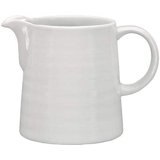 Jarra leche o crema Intenzzo porcelana blanca 130ml