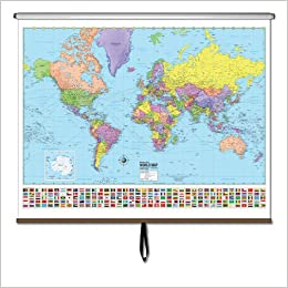 Amazon buy world advanced political wall map roller advanced amazon buy world advanced political wall map roller advanced political classroom wall maps book online at low prices in india world advanced gumiabroncs Gallery