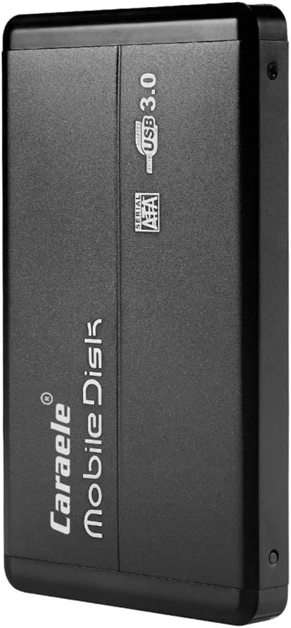 Homyl 外付けハードディスクドライブ USB3.0 SATA HDD ポータブル 00G / 1TB / 2TB 黒 - 2T