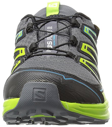 Salomon L39030300, Zapatillas de Trail Running para Hombre Gris (Dark Cloud  / Granny Green ...