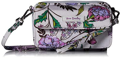 Vera Bradley Lighten Up RFID All in One Crossbody, Lavender Botanical