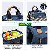 Wide Open Picnic Backpack Bag for 4, with Large