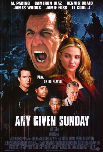 Image result for any given sunday poster