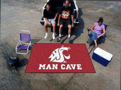 Cougar Vacuum (Washington State Man Cave UltiMat 5x8 Rug - Licensed Washington State Cougars Gifts)