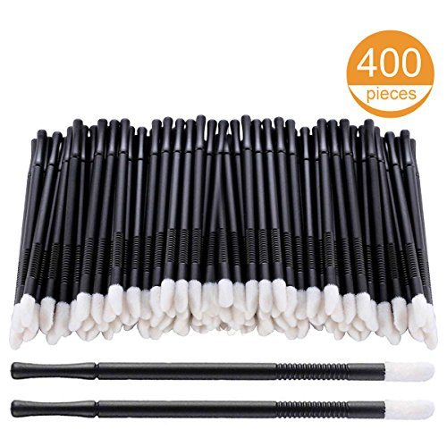 400Pcs/Set Disposable Lip Brushes Make Up Brush Lipstick Lip Gloss Wands Applicator Tool Makeup Beauty Tool Kits by NcFun