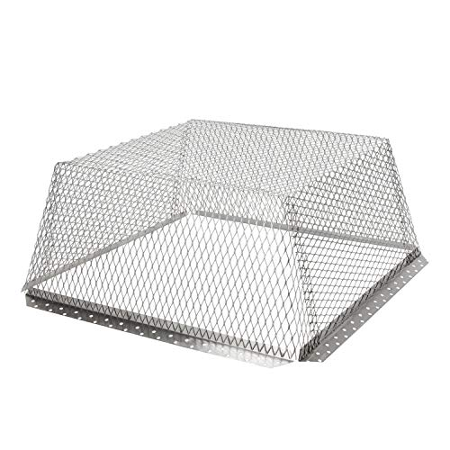 (HY-C RVG2525 Stainless Steel Roof VentGuard with Wildlife Exclusion Screen, 25