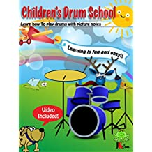 Children's Drum School: Learn how to play drums with picture notes