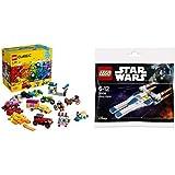 LEGO 乐高 Classic 经典系列创意拼砌篮 10715与LEGO 乐高 Star Wars 系列 U-翼战机 30496组合