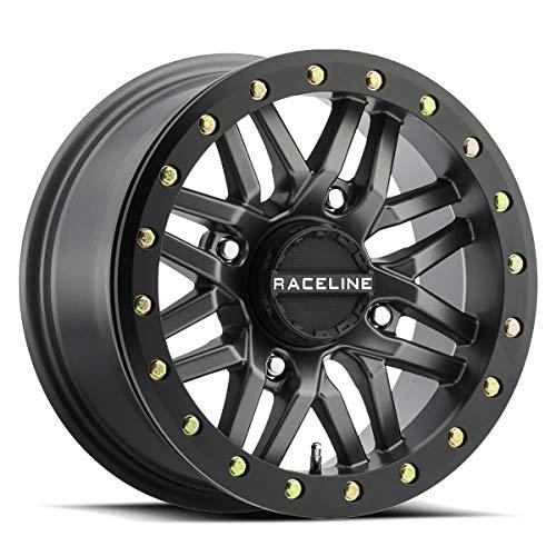 17-18 CAN-AM MAVX3XRS: Raceline Ryno Beadlock Wheel (Front / 14X7 / 4/137 5+2) (Gunmetal)