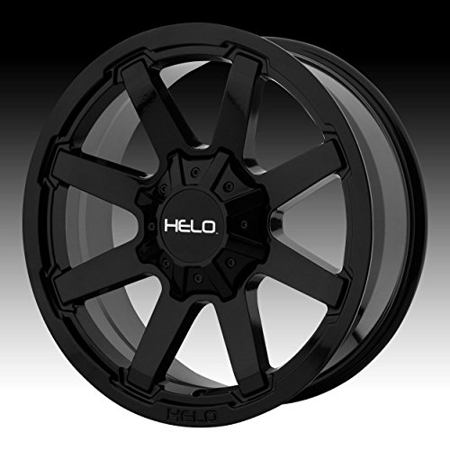 HELO HE909 Gloss Black Wheel Chromium (hexavalent compounds) (20 x 9. inches /8 x 125 mm, 0 mm Offset) (24 Inch Rims Dodge Ram 1500)
