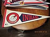 Vintage Cleveland Indians Arrow Mascot Pennants