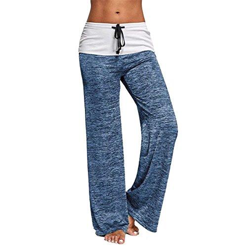 Classiche Monocromo Con Elegante Jogging Libero High Moda Hellblau Donne Waist Plus Pantaloni Hipster Coulisse Larghi Prodotto Pantalone Tempo Unique Baggy Donna WzwBZqpzY7