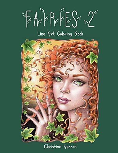 - Fairies 2 Line Art Coloring Book