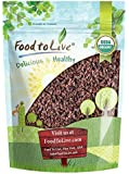 Organic Cacao Nibs by Food to Live (Non-GMO, Unsweetened, Kosher, Bulk) — 8 Ounces