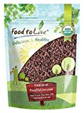 Organic Cacao Nibs by Food to Live (Non-GMO, Unsweetened, Bulk) — 8 Ounces