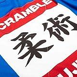 SCRAMBLE Shiai Short Sleeve MMA Rashguard - Blue