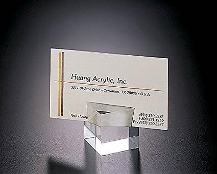 Amazon acrylic lucite set of 2 cube place card or business card acrylic lucite set of 2 cube place card or business card holder colourmoves