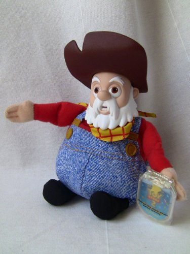 Disney's Toy Story 2 Prospector Stinky Pete 9″ Star Bean Figure (Rare)