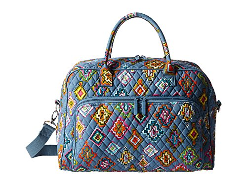 (Vera Bradley Luggage Women's Weekender Painted Medallions One Size)