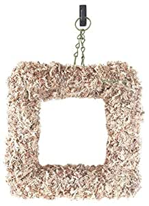 "SuperMoss (22352) Sphagnum Moss Living Wreath 13"" - Square, Natural"