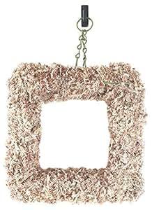 "SuperMoss (22352) Sphagnum Moss Living Wreath 13"" - Square, Natural"