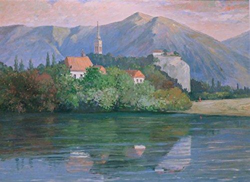 (Lakeside Villa, French Alps )