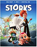 #2: Storks (Blu-ray + DVD + Digital HD Ultraviolet)