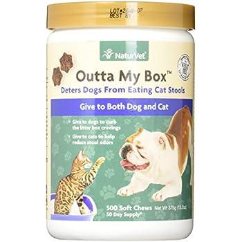 Amazon Com Naturvet Outta My Box Cat Stool Deterrant For