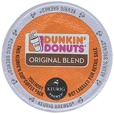 Dunkin Donuts Original Flavor Coffee K-Cups For Keurig K Cup Brewers (64 Count)